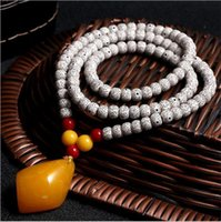 beeswax pearls - 2016 hot fashion national wind necklace Ms beeswax pearl necklace