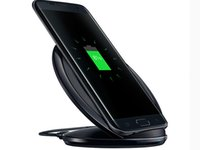 Wholesale Wireless Charger Receiver Fast Charger Wireless Charger Charging Pad Wireless Transmitter Stand For Samsung Galaxy S6 S7 S7 edge