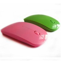 Wholesale colorful to choose gaming wireless mouse USB optical mouse with high sensitivity beautifully packaged notebook desktop line length
