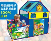 Wholesale Blue Eagle Toy Super Large Disassembly Children s Tent Lr6111 Indoor And Outdoor Interactive Games Tent Villas Del Sol