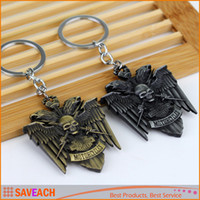 antique harley - Cool Skeleton Harley Motorcycle Key Chain Keychain Motorbike Keyring Key ring Silver Brass Color Keychains