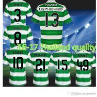 Wholesale Benwon Scottish club Celtic Soccer Jerseys Maillot de futbol men s short sleeve football jersey a thai quality sports t