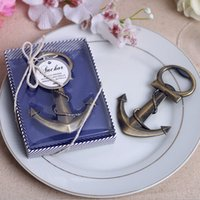 anchor party favors - 100pcs Nautical Boat Anchor Bottle Opener Wedding Party Shower Favors Present Gift