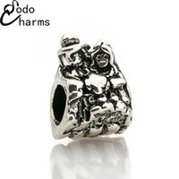 biagi beaded bracelets - fashion Pc silver New European wedding Charms Fashion Style Beads Fit Pandora BIAGI Bracelets Bangles DIY Fitting