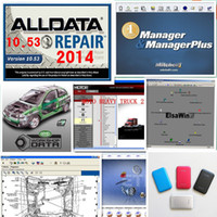 best usb disk - Alldata version All data V10 R and Mitchell car repair data software with TB hdd Hard Disk best price