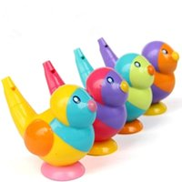 bath set collection - 1pc in whistle baby bath collection bath toy bird water whistles hot selling gift for kid Birthday gifts Toys