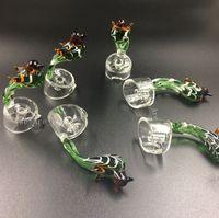 beautiful handles - Bird Handle Beautiful Glass Carb Cap for mm Thick Domeless Quartz Nail Carb Caps Quartz Banger Dab Nail Carb Caps Oil Rigs