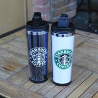 advertising white papers - 320ml Capacity Double Wall with Insert Paper Starbucks Coffee Mug as Promotioal Cup for Advertising