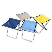 Wholesale Rushed Sillas Cadeira Barracas Para Acampamento Small Portable Folding Stool Chair Fishing Mazar Station Chairs Mesh