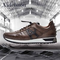 band aides - Aide Baou Men s Casual Sneaker Trend British Wind Fashion Men Shoes Lightweight Wear resistant Retro Casual Shoes