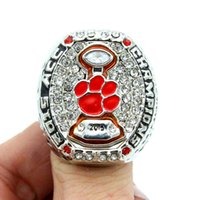 Wholesale 2015 Clemson Tigers ACC Men s Football College Championship Ring Male fans ring as a gift