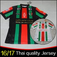 Cheap Thai version Palestino Chile football club Team Jersey Map of Rugby jerseys 2016 Palestine Maillot Rare 16 17 Deportivo Palestine Jersey
