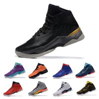 Wholesale 2016 Stephen CURRY Playoffs Basketball Shoes MVP CURRY men Basketball Boots Sport Shoes Mens Basketball Sneakers curry curry shoe
