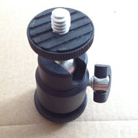 Wholesale 360 Degree Aluminum Alloy Shoe To quot Male Screw Mount Ball Head For Camera