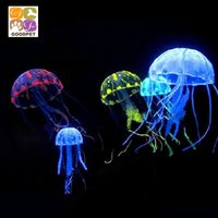 Wholesale Creative landscaping aquarium jellyfish jellyfish aquarium simulation landscaping plants decorations Pseudomonas fluorescens cor
