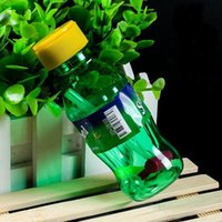 acrylic water bottle - 2016 Newest Acrylic spritech Dirty bong bottle Sprite Dirty Glass Water Pipe Smoking oil rig Sprite acrylic Water bong