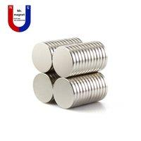 Wholesale 50pcs mm x mm Super strong magnet D15x2mm magnets x2 permanent magnet x2mm rare earth mmx2mm magnet D15 mm