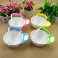 Wholesale maternal and child supplies Baby Food Mills Food Grade PP Fruit Grinding bowl
