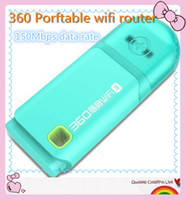 Wholesale 360 WiFi th Generation USB Mini Wireless Router for Table PC up to Mbps
