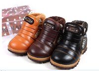 Wholesale winter style baby children shoes Warm shoes Boys Skid Shoes baby Thicken kids Shoes kids outfit shoes