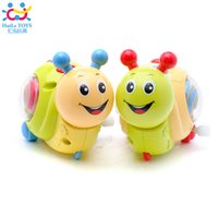 Wholesale Genuine chain toys rotating the little snail baby baby years old preschool educational toys