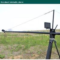 Twzz 400cm Camere Crane Jib Rocker Arm pour DSLR's Film Feature Film Vidéo amovible Livraison gratuite