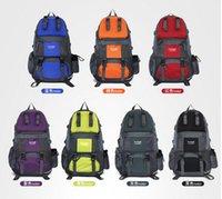 Wholesale Unisex L Big Capacity Sport Backpack Travelling Bags Nylon Waterproof Hiking Backpack Camping Backpack Big Sports Bag Duffel Backpack