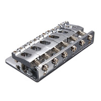 Wholesale Musical Instruments parts chrome electric guitar tremolo string roller guitar bridge With Screws