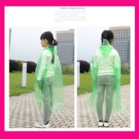 Wholesale Chlidren Environment Raincoat student Hooded Poncho Rainwear Travel Rain suit Girl boy Capa De Chuva De Motoqueiro Impermeable