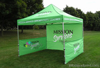 Wholesale Tent Custom Printing Gazebo X3 Metre Pop up Tent Custom Printed X10FT Trade Show Tent Marquee