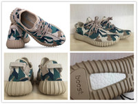 custom shoes - 2016 Newest Hot Sell Camo Kanye West Boost Kendra Customs BB5052 Boost Sport Run Fashion Cheap Man Shoe Woman Shoe With Box
