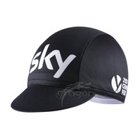 Wholesale Sky new professional Team Cycling Bike Head Cap Hat Quick Drying is suing Wear men and women Cycling Hat Cycling caps