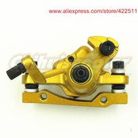 bicycle spare parts accessories - High Quality Gas Electric Scooter Brake Caliper Golden Electric Bicycle Disc Brake Caliper Scooter Spare Parts amp Accessories
