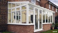 Wholesale Calowds aluminum hollow glass greenhouse YGF060401
