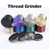 authentic patterns - Authentic Thread Pattern Herb Grinders Zinc Alloy Material mm Metal Grinders layers Colors Available Sharpstone Grinders