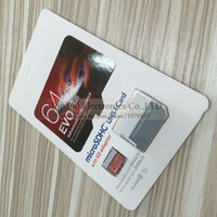 Wholesale New Arrival GB Class10 EVO Plus Card UHS MicroSDXC TF Flash Memory Card for Samsung Galaxy HTC Huawei Android Phones