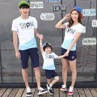 Wholesale Family clothing sets parent child family T shirts family fashion T shirts