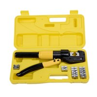 battery terminal lugs - 8 Ton Hydraulic Wire Terminal Crimper Battery Cable Lug Crimping Tool