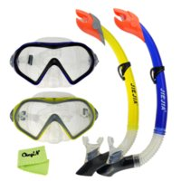 Wholesale Anti Fog Goggles Diving Mask Snorkel Set Breathing Tube Mask For Diving Swimming YJ035 S30 mask surgical