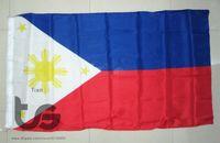 Wholesale Philippines Philippine flag national flag x5 FT cm Hanging National flag Philippine Home Decoration flag banner