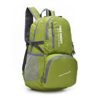 Wholesale new L double shoulders outdoor mountaineering sports leisure bag waterproof nylon folding storage bag