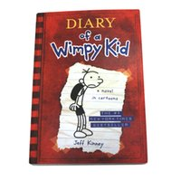Wholesale 2016 Diary of a wimpy kid collection Books A novel in Cartoons the NO New York Times Best Seller Books Written by Jeff Kinney Set