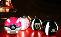 backup games - Popular Pokeball Power Bank Magic Ball with LED Light mah backup charger for PokeMonGo AR Game types outdoor powerbank with keychain