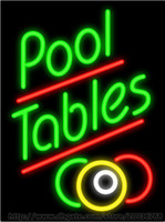 bar billiard tables - Pool Tables Neon Sign Handcrafted Custom Real Glass Tube Store Pub Advertisement Snooker Table Billiard Table Display Sign quot X19 quot