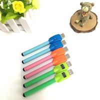 Wholesale Multicolor O pen vape bud touch battery CE3 mAh e cig cub O Pen thread e cigarettes vaporizer for Ecig Kit Mini vape