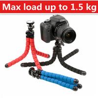 Wholesale flexible camera tripod Flexible Leg Mini Tripod for Gopro Digital Camera and phone Load Bearing to Kg Gorillapod