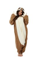 Wholesale Animal Costume Cosplay Adult Pyjamas JP Animal Sloth Pajamas home Sleepwear pijama