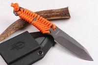 bear grylls knife - raeB erbreG GRYLLS GB Bear Bell Survival Straight Knife cm Hrc g camping hunting knife folding knife
