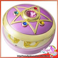 Wholesale Original Bandai Sailor Moon th Anniversary Proplica Crystal Star Brooch Compact Mirror Figure