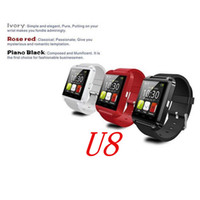 Wholesale Watch U8 DZ09 A1 GT08 Hot New Bluetooth Smart Watch Wrist Wrap Watch Phone for IOS Apple iPhone S Plus Android Samsung